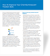 How to Improve Your Chemiluminescent Western Blots